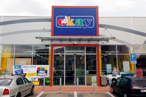 prodejna OKAY