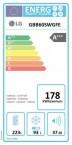 Rozdíly v energetických třídách lednic