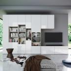 Nejúspěšnější obývací stěny - evergreeny i nové trendy