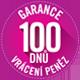 Garance vrácení peněz 100